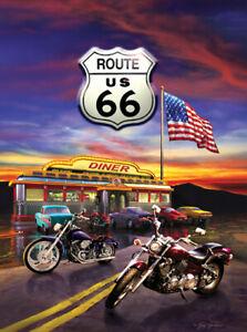 """Sunsout  -  """"Route 66 Diner""""  -  Puzzle 1000 pieces  NEW"""