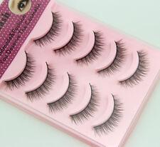 Beauty Natural False Fashion Fake Eyelashes Makeup Soft Cosmetic Free shipping