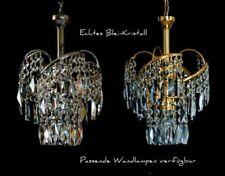 PETIT Crystal Chandelier avec Véritable Cristal disponible en or sans argent
