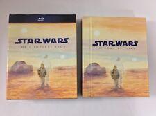 Star Wars Blu-Ray THE COMPLETE SAGA (9-Disc Set) Episodes 1-6 + Bonus Unsealed