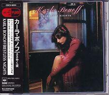Free Shipping Karla Bonoff Restless Nights CD Obi Japan