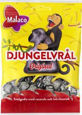 Malaco Djungelvral (Jungle)Supersalty Taste Liquorice 12 packs of 960g /  33.8oz