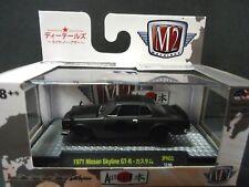 M2 Nissan Skyline GTR 1971 Matte Black 32500-JPN02 1/64