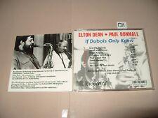 Elton Dean/Paul Dunmall  If Dubois Only Knew cd 8 Tracks