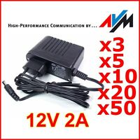 !!! 12V 2A Netzteil AVM !!! Trafo Netzadapter AC Adapter für RGB LED Strip CCTV