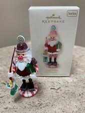 Hallmark Christmas Ornament, Candy Claus, Noel Nutcrackers, Series, 2008