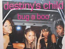 Vintage Original Destiny'S Child 1999 Promo Poster Ad Bug a Boo Song Beyonce