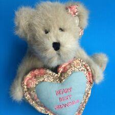 "New ListingBoyds Granny B Bear Nwt 8"" Jointed Beary Best Grandma Retired"