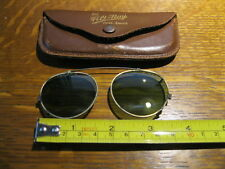 Vintage Filt-Ray Over Specs Clip-On Sunglasses for eyeglasses