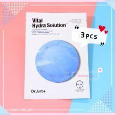[Dr.Jart] Dermask Water Jet Vital Hydra Solution Mask 3Pcs, US Seller! Free Gift