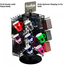 """New Retails 3-Sided Wire Grid Panel Countertop Spinner Display 21"""" x 12"""""""