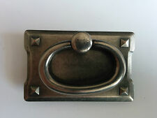 Silvered Pewter Ring Pull Handle Box of 40