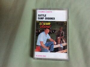 SLIM DUSTY :- Cattle Camp Crooner   : CASSETTE 1984 Aussie Country
