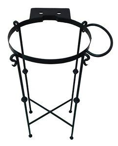 #5 WROUGHT IRON PEDESTAL BASE FOR COPPER / CERAMIC SINK IRON STAND