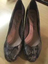 Marks and Spencer Composition Leather Slim Heels for Women