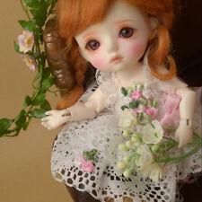 """[Dollmore]  5.5"""" high BJD clothes Bebe Doll Size - Beau Dress (White)"""