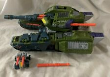 Transformers Armada Megatron Giga-Con Action Figure Hasbro 2002 w/ Leader-1