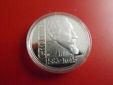 *Niederlande 25 Ecu 1995 Silber PP *ca.25g.* Grotius (Schub114)