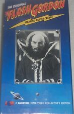 Flash Gordon The Original Box Set on Questar Collector's Edition 4 Tape set VHS