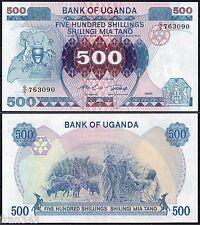 UGANDA 500 Shillings 1986 Pick 25  SC / UNC