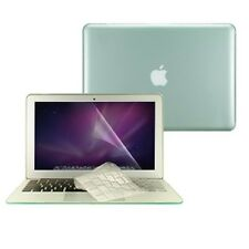 "3 in 1 Crystal GREEN  Case  for Macbook Air 13"" A1369 + Key Cover + LCD Screen"