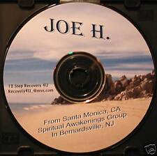 "Alcoholics Anonymous CD Speaker Joe H. ""Drop the Anvil"""