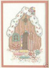 Christmas Ginger Bread House Cross Stitch Chart Pattern