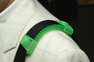 "2"" WIDTH ERGOPAD NONSLIP SHOULDER STRAP PAD LAPTOP BAG ACCESSORY IN GREEN"
