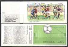 Sweden 1988 Football/Sports/Games/Soccer 6v bklt (n24581)