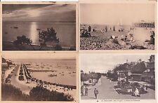 Lot de 4 cartes postales anciennes ARCACHON 2