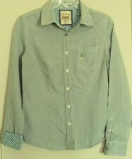 BEANPOLE JEANS western SHIRT  l/sleeve Button front CHECK TOP ~ Women sz 8 to 10