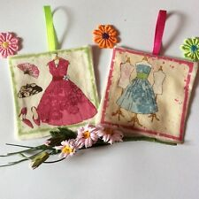 Lavender Sacchetto Bustine da appendere decorazioni Moda DONNA glamour in tessuto fatto a mano