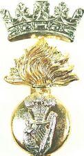 ROYAL IRISH FUSILIERS CLASSIC GENUINE REGIMENTAL CAP BADGE
