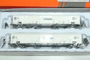 ACME HO FS 2teiliges Set 4achsiger Kühlwagen Interfrigo weiß 45074 NEU OVP