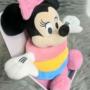 NWT Disney Baby Minnie Mouse Soft Plush Stacking Rings Toy
