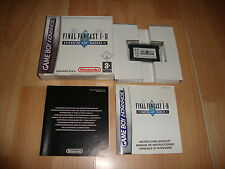 FINAL FANTASY I II DAWN OF SOULS PARA LA NINTENDO GAME BOY ADVANCE GBA COMPLETO