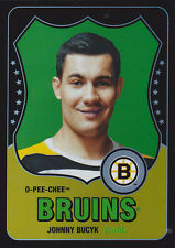10-11 OPC Johnny Bucyk /100 Retro Rainbow Black OPEECHEE Bruins 2010
