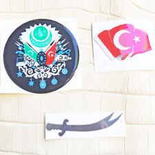 3 x Stickers Osmanli Sticker zülfikar Hz Ali Tugra Ayyildiz Ataturk Bozkurt zs2