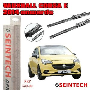 """VAUXHALL/OPEL CORSA E 2014+ SPECIFIC FIT FRONT WINDSCREEN WIPER BLADES 26""""15"""""""