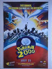 Pokemon the Movie 2000: The Power of One Movie POSTER 11 X 17 Kunihiko Yuyama