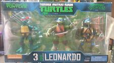 Teenage Mutant Ninja Turtles Leonardo Nickelodeon exclusivo paquete de 3 1984/88 2012