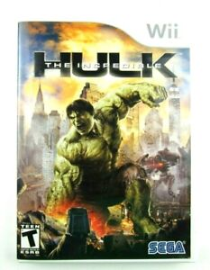 The Incredible Hulk for Nintendo Wii Complete Fast Shipping!