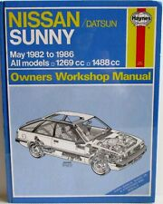 Haynes - Nissan / Datsun Sunny May 1982 ~ 1986 All Models Owners Workshop Manual