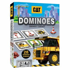 CAT Caterpillar Dominoes Brand New and Sealed