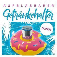 """20 Stück Aufblasbarer Getränkehalter Dosenhalter Getränke-Halter """"Donut"""" Ø 20 cm"""