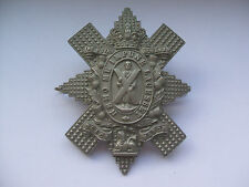 victorian - boer war 1896-1901  vintage glengarry cap badge of the black watch