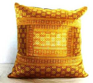 "16"" x 16"" Silk Brocade Pillow Case Multi-color Cushion Cover Throw Home Decor"