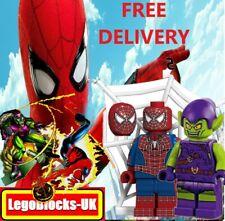SPIDERMAN & GREEN GOBLIN CUSTOM LEGO MINIFIGURES MARVEL BOYS STOCKING FILLERS