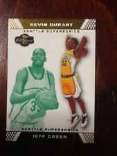 2007-08 TOPPS CO-SIGNERS JEFF GREEN KEVIN DURANT GOLD PARALLEL #/59 #74 RC