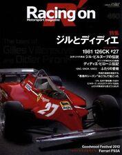 [BOOK] Racing on 460 Gilles Villeneuve Didier Pironi Ferrari 126CK 126C F93A